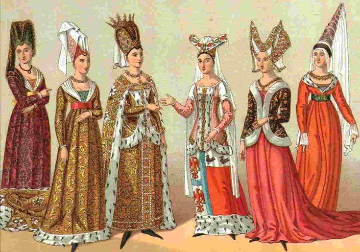 Historia del vestido (Parte I)  http://revistadehistoria.es/historia-del-vestido-parte-i/