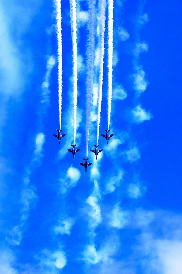 Blue Impulse (JASDF ASHIYA IRUMA AIRBASE) 2010