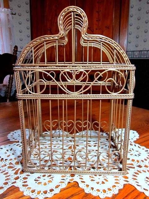 72 best images about bird cages on pinterest for Cage d oiseau decorative