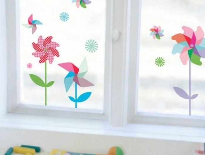 1001 Ideen Fur Fensterdeko Sommer Zum Selber Machen Fensterdeko Sommer Basteln Fruhling Fenster Fensterdeko