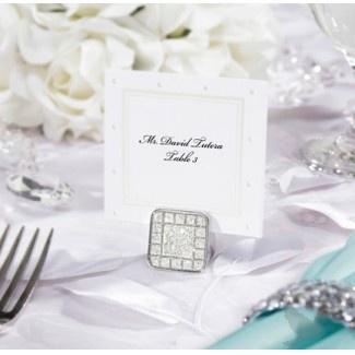 David Tutera Wedding Collection - Printable Swiss Dot Place/Escort Cards