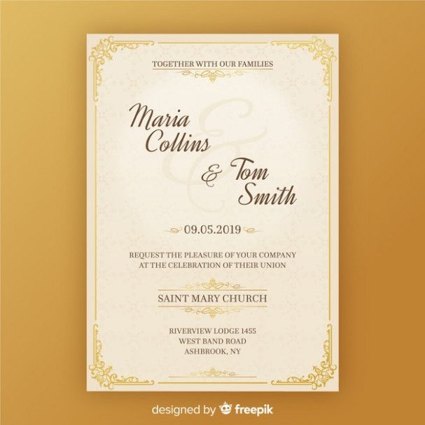 Five Things To Know About Invitation Cards Samples Wedding Undangan