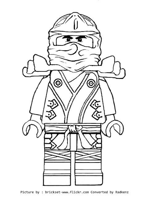 Mewarnai Ninjago Lego H Warna