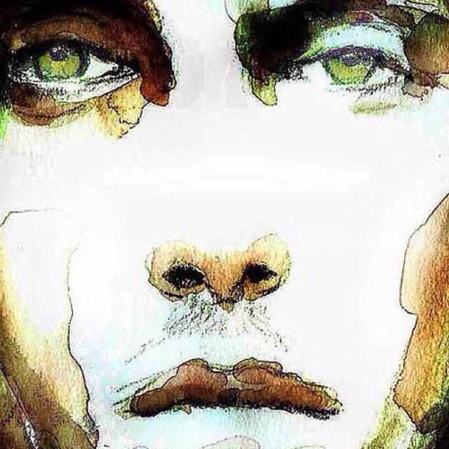 watercolor painting by Tina Klitgaard  Eriksen