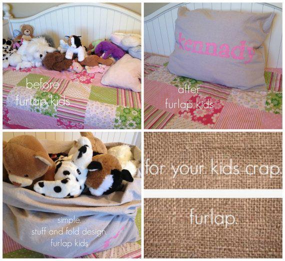 Stuffies! For your kids crap. Furlap.