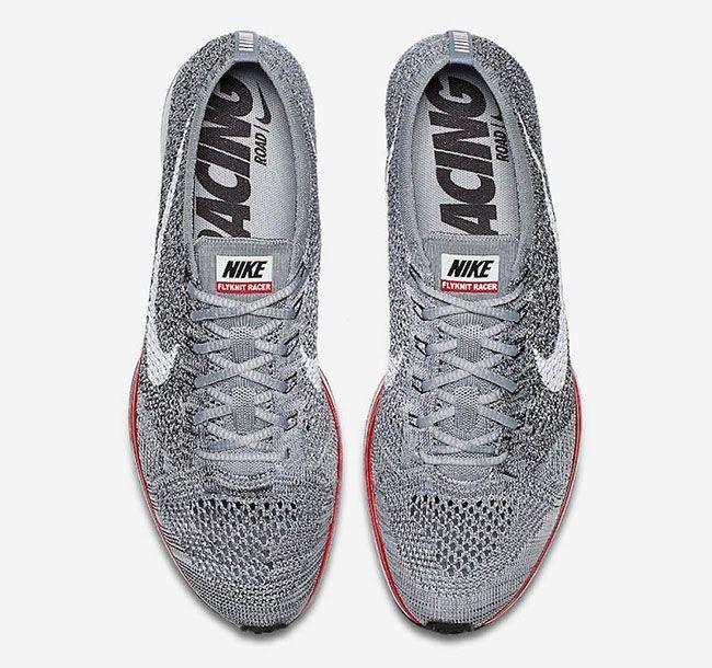 """Nike Flyknit Racer """"Red Midsoles"""""""