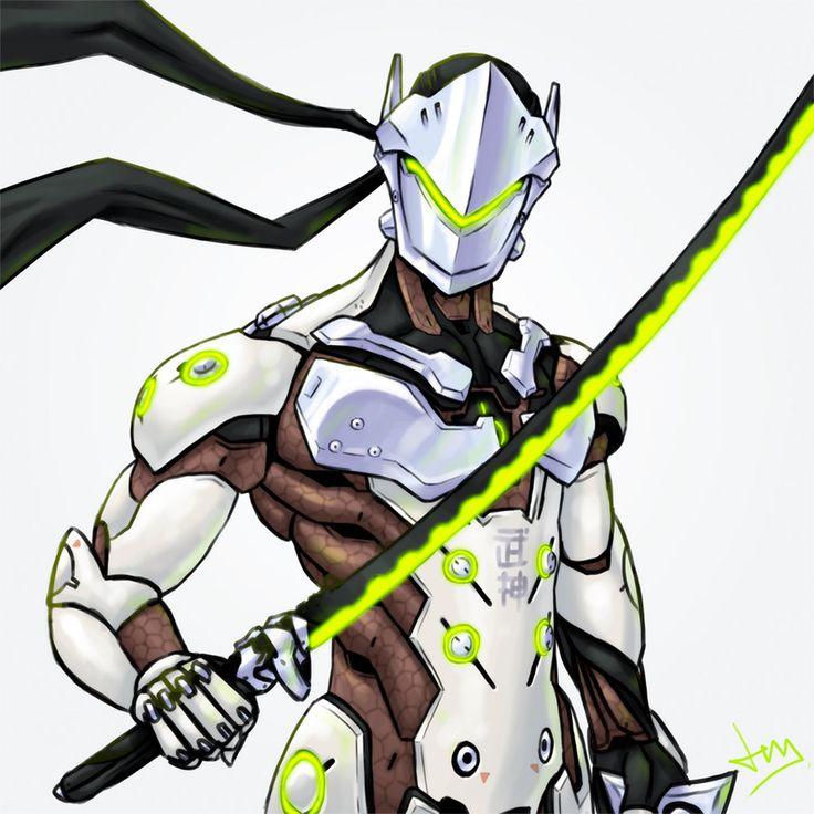 Overwatch 4/8 - Genji by Jevi93 | Blizzard | Pinterest ...