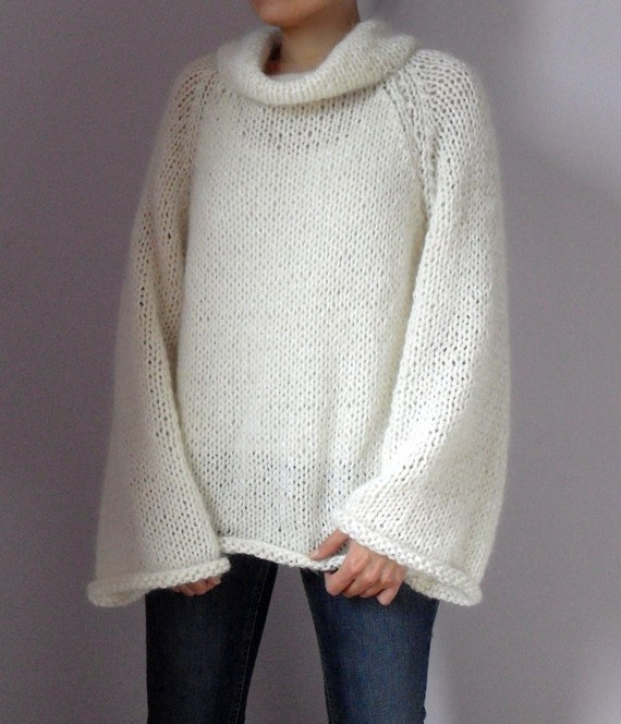 knitted sweater - simply lovely.