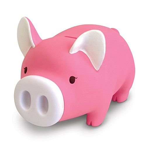 Cute Pig Money Box Piggy Bank for Kids Birthday GiftPink-Develop a Good Habbit of Saving Money