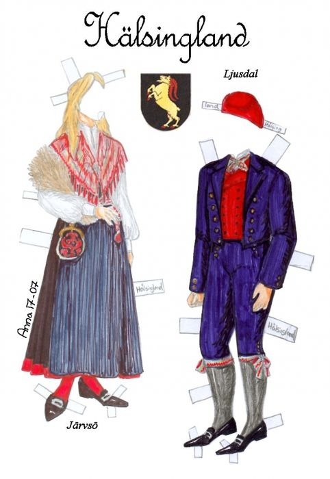Svenskadrakter2 * 1500 free paper dolls at artist Arielle Gabriel's International Paper Doll Society also her new memoir The Goddess of Mercy & the Dept  of Miracles playing with paper dolls in Montreal *
