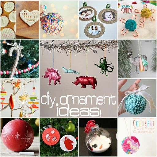 86 best images about christmas on pinterest handmade for Easy home made christmas decorations