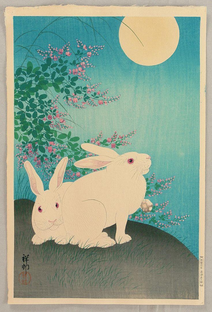 45 best rabbits images on pinterest japanese painting japanese