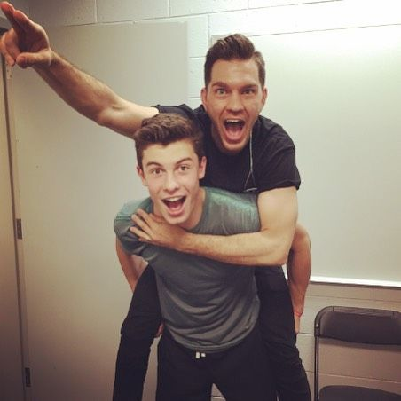 Andy Grammer and Shawn Mendes❤️❤️❤️