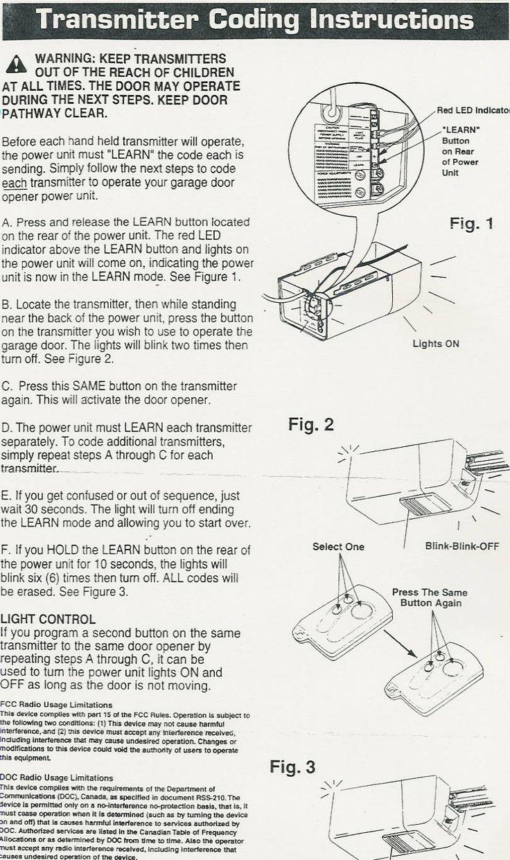 55c7abe7b4b6e02119c9076609240f27 m�s de 25 ideas incre�bles sobre rodillos de puerta de garaje en raynor power hoist standard wiring diagram at bakdesigns.co