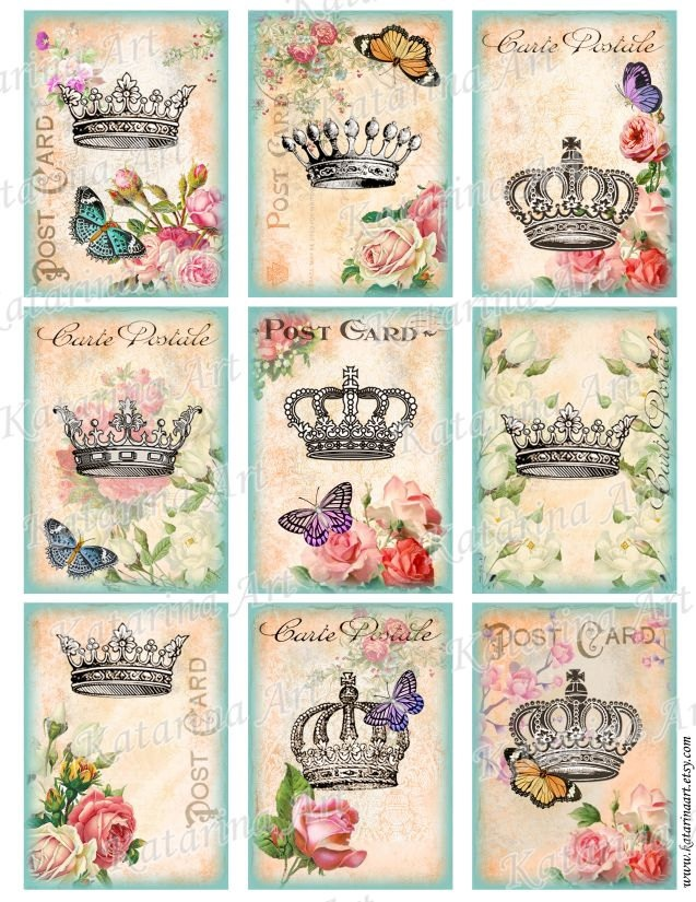 crowns galore! I like the top left, middle row middle, and bottom row left. BUT...do queens have to have Terra's and kings crowns? Hummmm