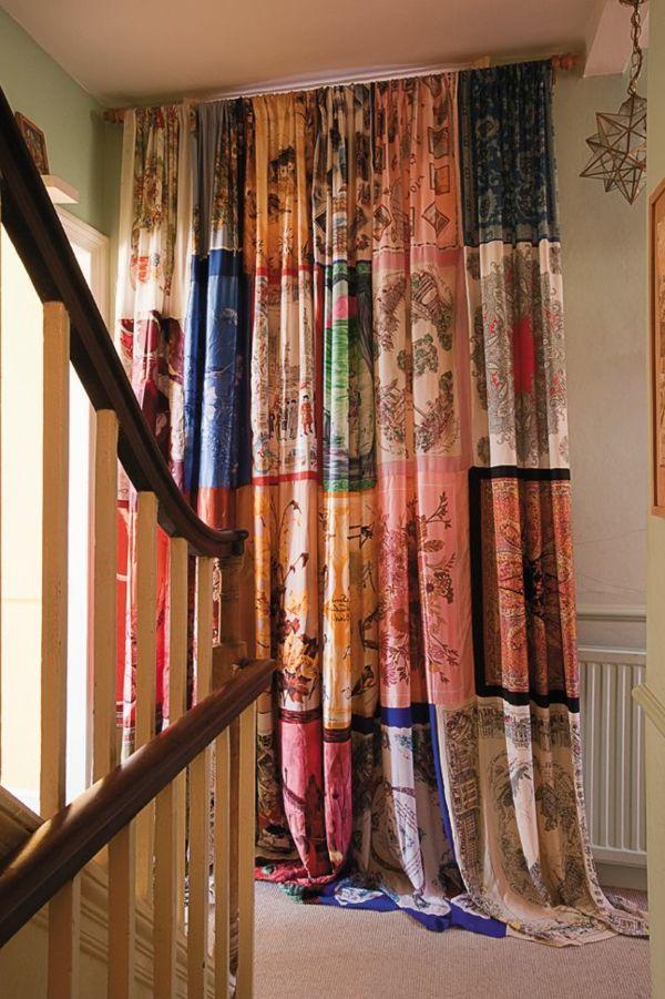 28 best Gardinen images on Pinterest Sheer curtains, Paint and - gardinen muster für wohnzimmer