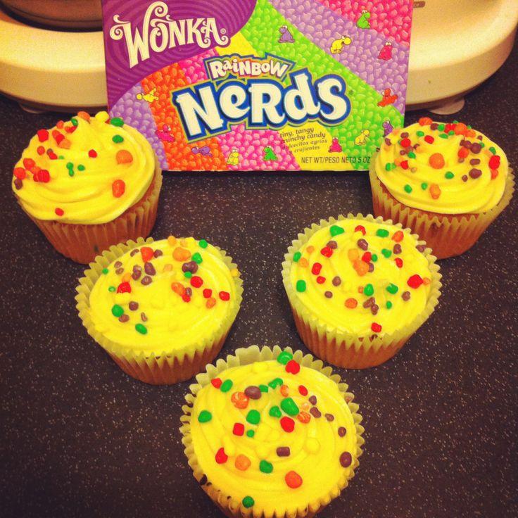 Willy Wonka nerds cupcakes  sc 1 st  Pinterest & 113 best Willy wonka nerds images on Pinterest | Nerds candy ... Aboutintivar.Com