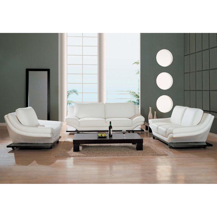 Best 25+ White leather sofas ideas on Pinterest White leather - white living room sets