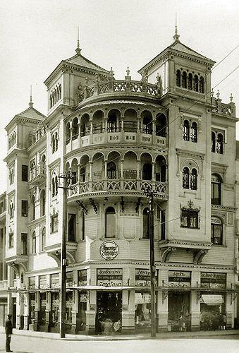 Chile, Antofagasta: El Palacio de la Casa Giménez: una joya arquitectónica en Matta con Baquedano