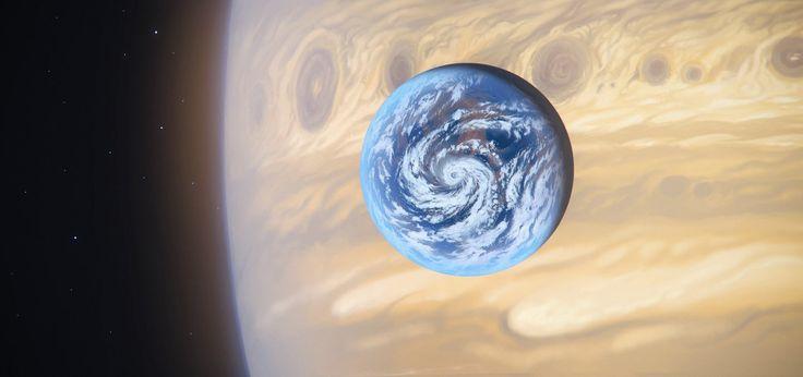 earth like moon - 736×346