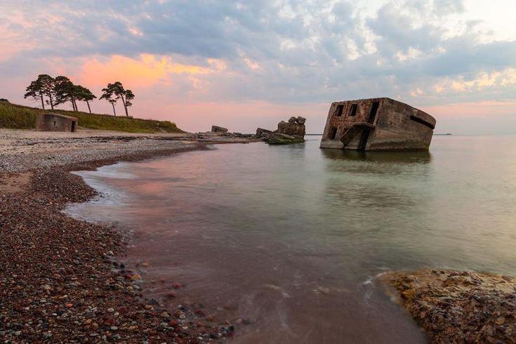 Les ruines de Liepaja - Lettonie
