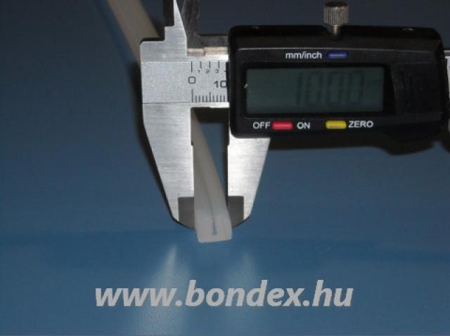1 mm-es szilikon lemezrögzítő U profil