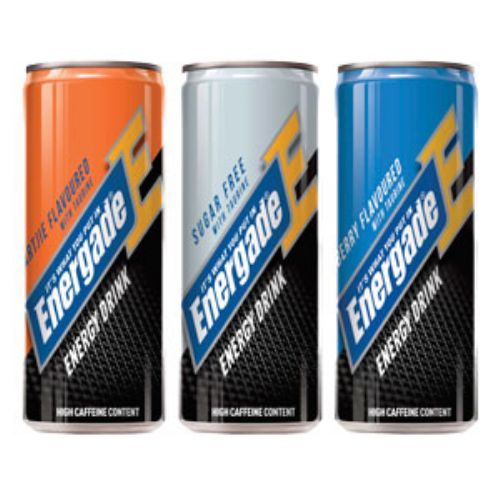 New Energade Enegry drink comes in a 330ml slim can and is available 3 tasty flavours – Blueberry , Naartjie  and Sugar Free.   Energade Energy Drink is enriched with electrolytes for maximum hydration    _