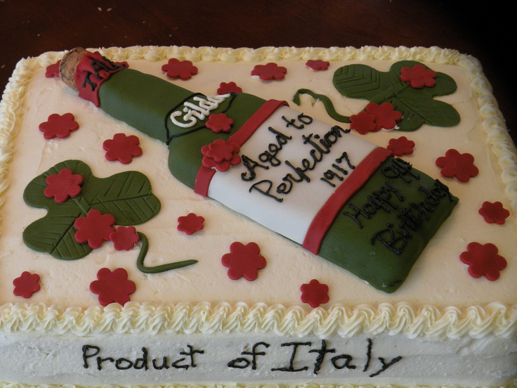 Birthday cakes delivery in italy