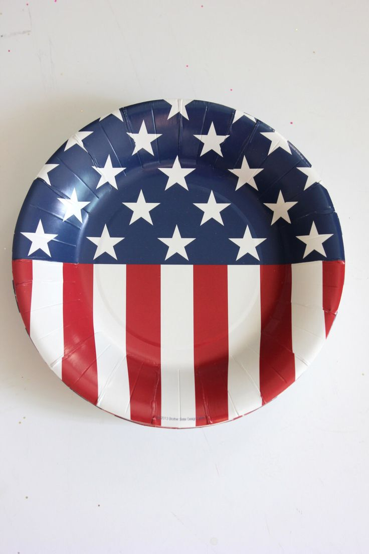 Sale Set 20 RED WHITE & BLUE Paper Plates 4th Fourth of July Striped Stars Stripes Usa America Flag Birthday Presidential Campaign 2016 by TheFulfilledShop on Etsy https://www.etsy.com/listing/386899432/sale-set-20-red-white-blue-paper-plates