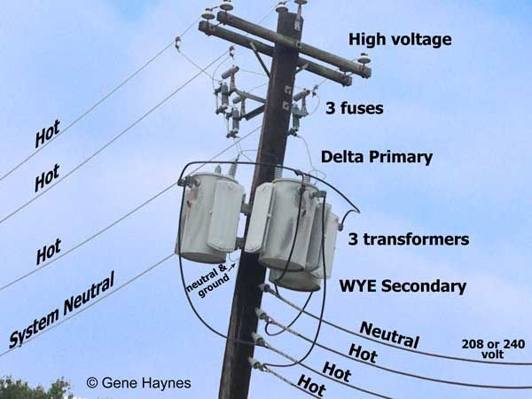 Wye And Delta Circuits Transformers Electrical Grid