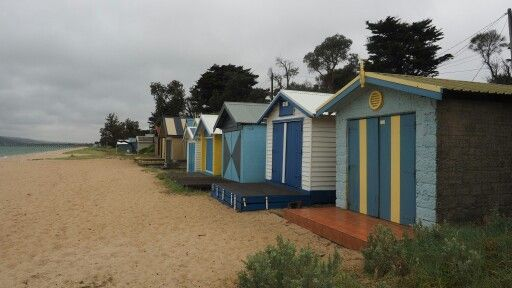 Beach cabins - Phillip Bay - Melbourne, Australia.