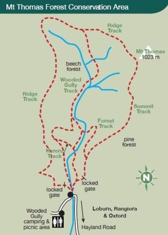 Mt Thomas Conservation Area