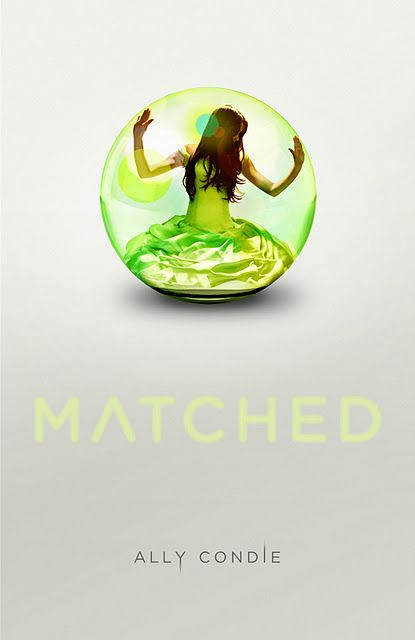 "Matched is about a future ""Utopian"" society where everything is decided for its people. Even their life partner. When Cassia gets her match, she sees two pictures of two boys she both knows. In this novel she struggles to figure out which love is right, learns that her society isn't what she once thought it was, and how to take risks."