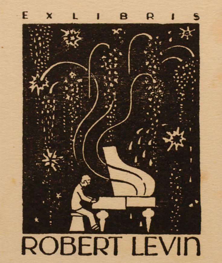 Albert Jaern, 1946, Art-exlibris.net