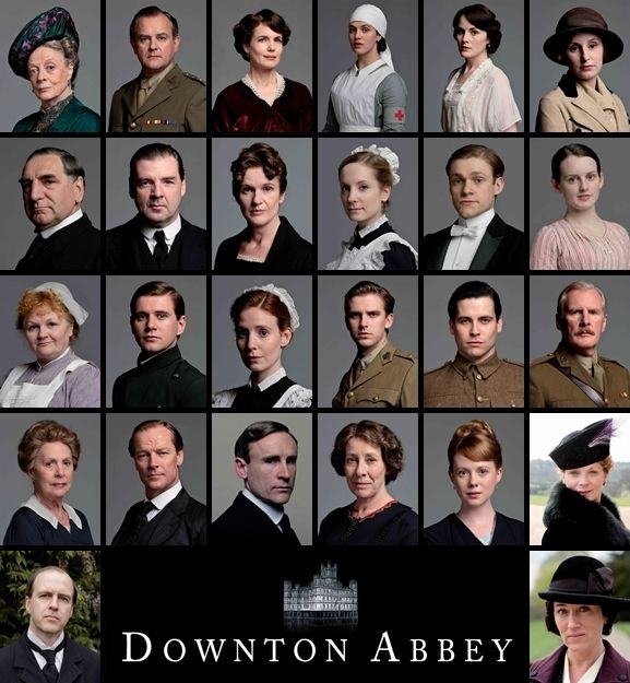 DOWNTON ABBEY    •Rob James-Collier/Thomas Barrow  •Dan Stevens/Matthew Crawley