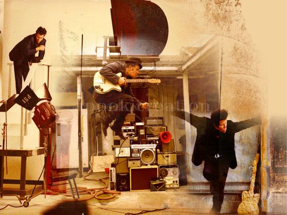 Tom Waits  Music Art Print by apookicreation, €6.99