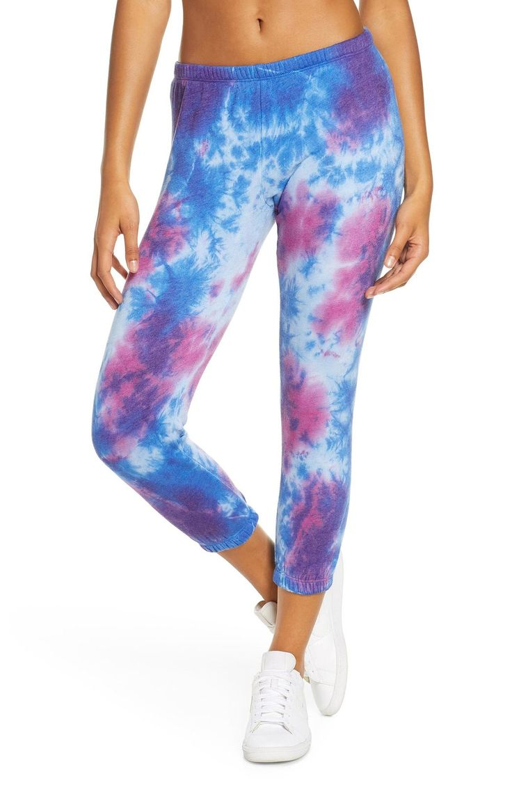 Lady gagas tiedye sweatpants are the only thing we ever