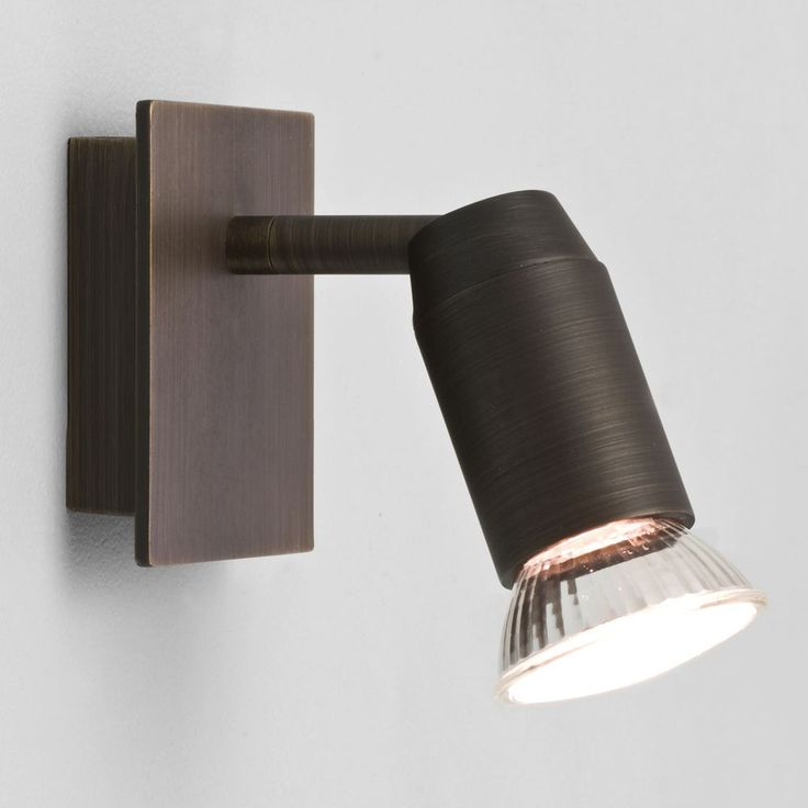 The Magna Single Spotlight has a Bronze Finish and Requires a GU10 Lamp. Astro 6119