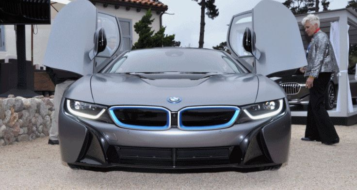 USA Debut and $825,000 Auction Grand Slam – 2014 BMW i8 Pebble Beach Concours d'Elegance Edition