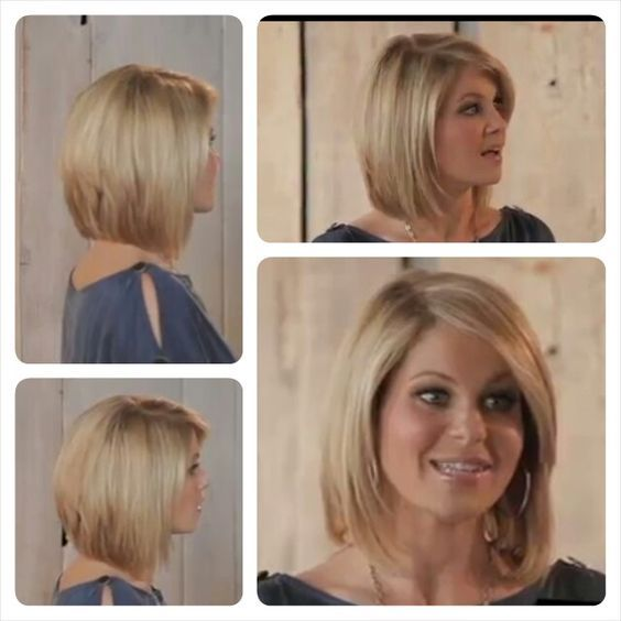 I love Candace Cameron Bure's hair and am always looking for good pics of it.   These screen shots from a video show some great views of her hair.  Especially loving the back!