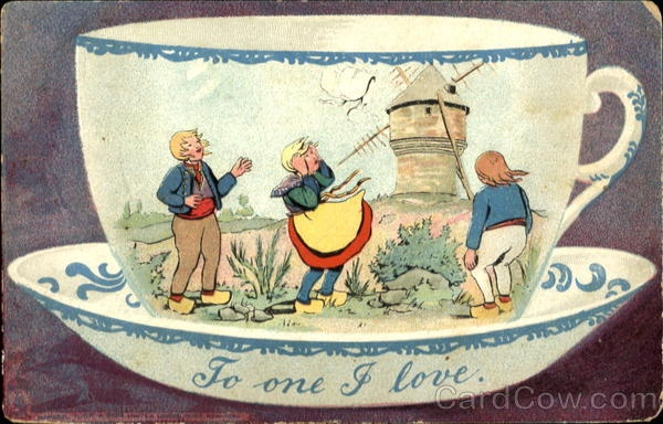 To One I Love Dutch Children Coffee & Tea