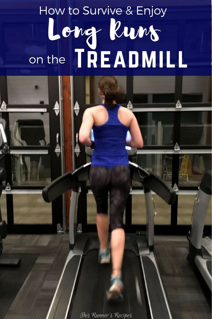 Stuck inside for your long run by the cold, snow, and winter weather? Use these tips and tricks for surviving and enjoying your treadmill long runs.