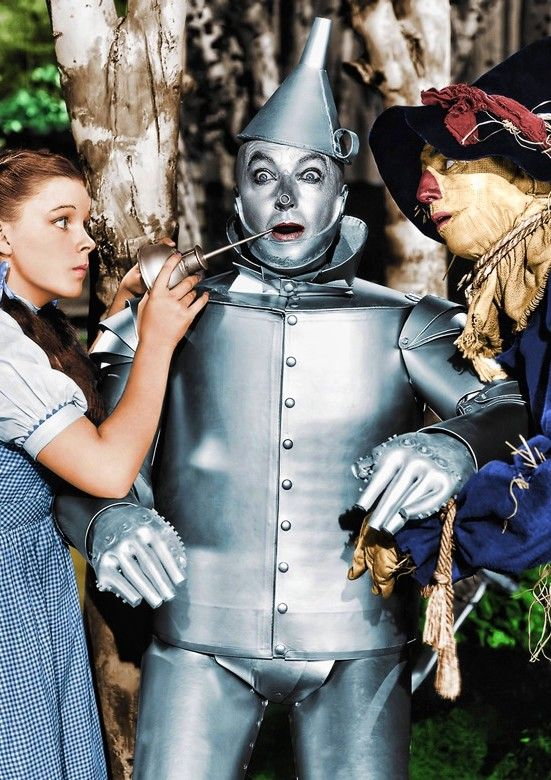 *DOROTHY, THE TIN MAN & THE SCARE CROW ~ The Wizard of Oz, 1939