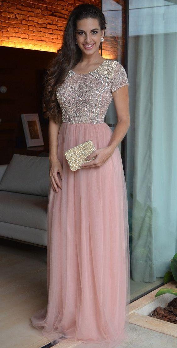 75 best Vestido de Festa images on Pinterest | Classy dress, Party ...