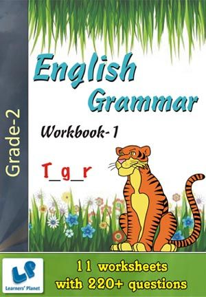 GRADE-2-OLYMPIAD-ENGLISH-GRAMMAR-WORKBOOK-1 This workbook contains printable worksheets on English Grammar for Grade 2 students.  There are total 11 worksheets with 220+ questions.  Pattern of questions : Multiple Choice Questions.    PRICE :- RS.149.00