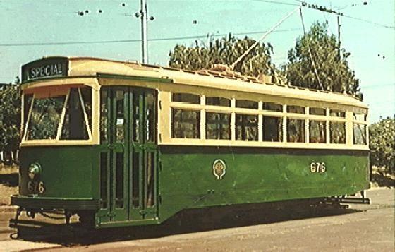 Souvenir photograph of Class X.2 tram (built in 1934), photo taken in 1978.