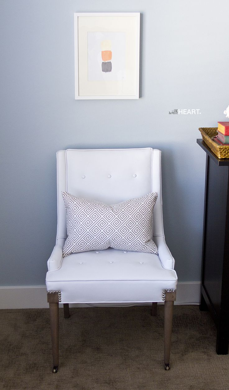 Amazing Vintage Chair Makeover Tutorial   With Heart!