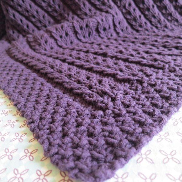 Tuto tricot: la baby blanket de Lou