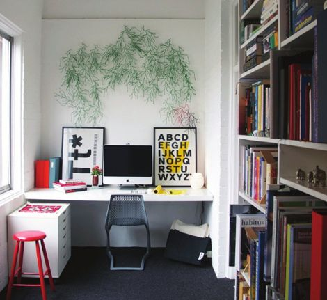 #workspace: Offices Design, Offices Spaces, Interiors Design, Work Spaces, Workspaces, Desks, Offices Decor, Small Spaces, Home Offices