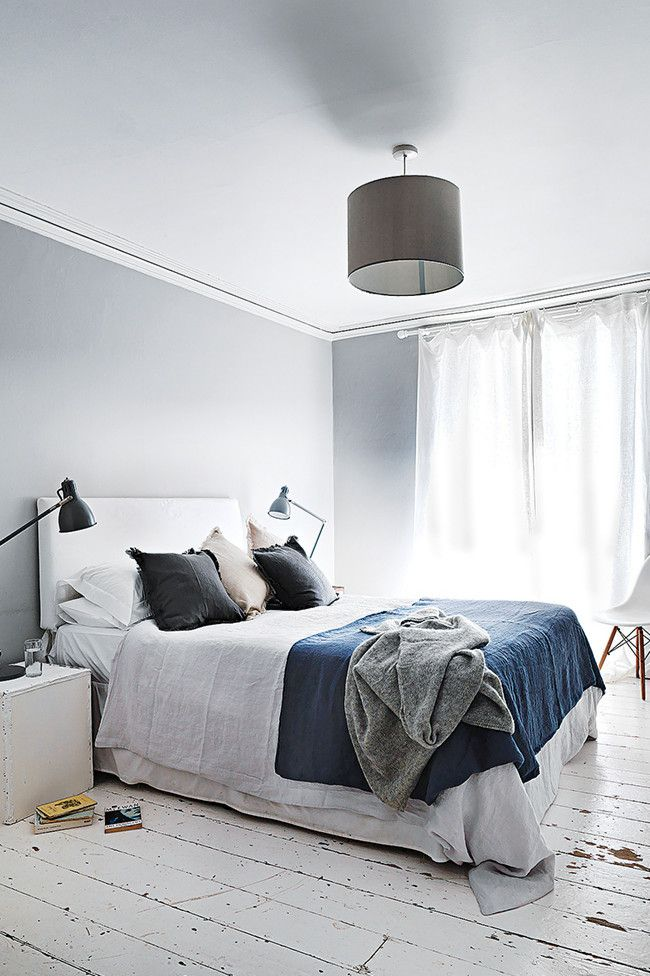 Bedroom: a blend of mid-century, vintage & industrial in this 1780 Georgian-era home in Bristol, England by michael paul | inside out magazine